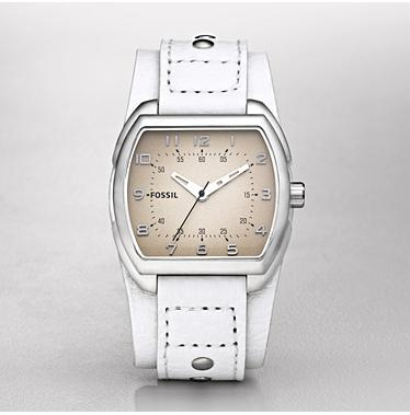 Fossil JR1128, Analog White Dial