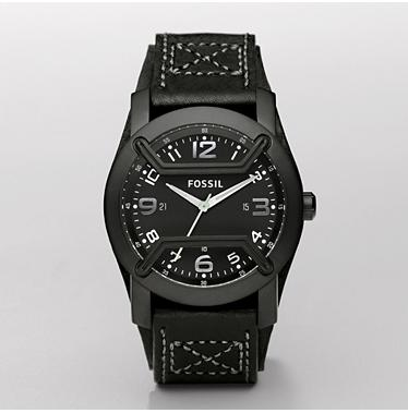 Fossil JR1136, Analogue Black Dial