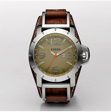 Fossil JR1155 Analog Green Dial