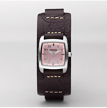 Fossil JR1158, Analogue Pink Dial