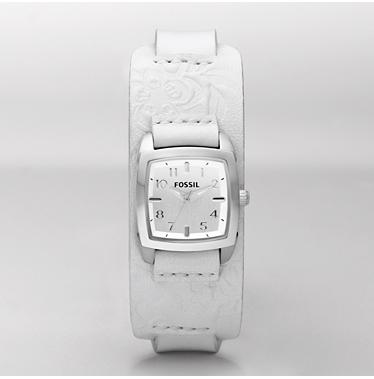 Fossil JR1159, Analog White Dial