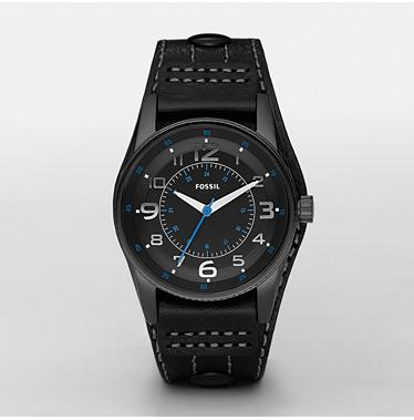 Fossil JR1191, Analog Black Dial