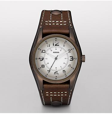 Fossil JR1193, Analog Taupe Degrade Dial