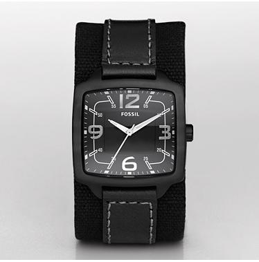 Fossil JR1194, Analog Black Dial