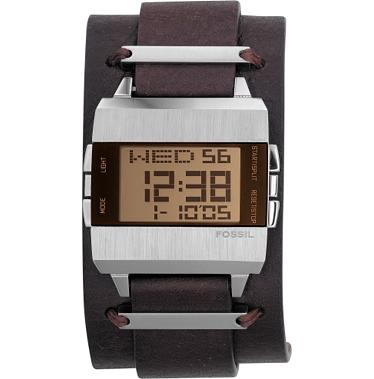 Fossil JR9120 Digital Brown Dial