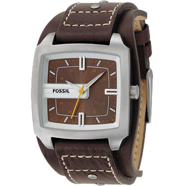 Fossil JR9990 Analog Brown Dial
