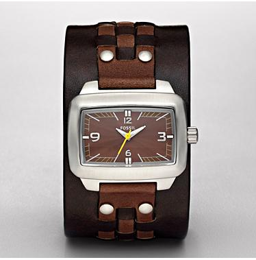 Fossil JR9999 Analogue Brown Dial