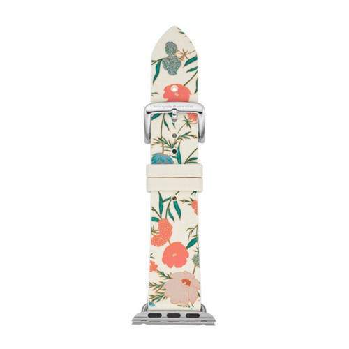 Kate-Spade Kate Spade New York Floral Silicone Apple Watch® Strap 38Mm Kss00..