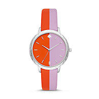 87ea56fd6 New - kate spade new york morningside bicolor pink/green leather watch.  $175.00. Online Exclusive. remove. KSW1532P
