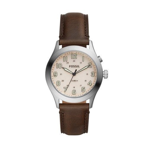 The Archival Series Starmaster Three-Hand Brown Leather Watch LE1059
