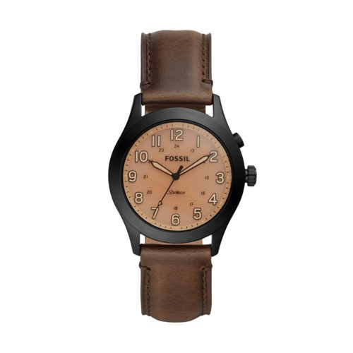 The Archival Series Starmaster Three-Hand Brown Leather Watch LE1084