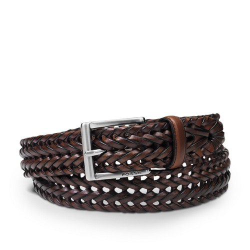 Fossil Myles Belt Mb416022240 Color: Cognac