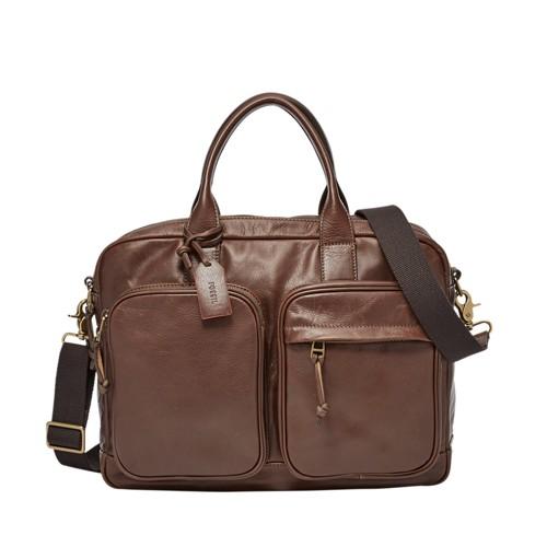 Fossil Defender Double Zip Workbag Mbg9048200