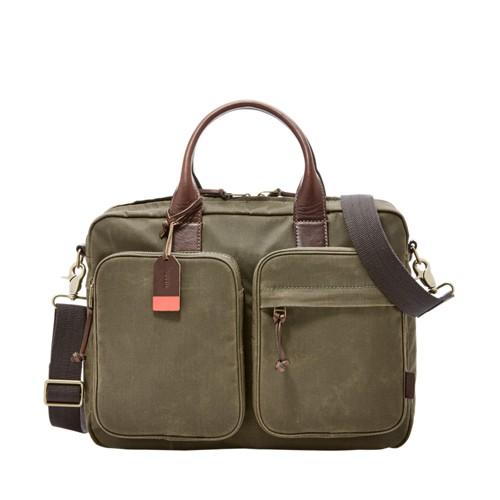 Fossil Defender Top Zip Workbag Mbg9089300