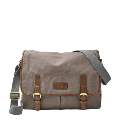 Fossil Graham Ew Messenger Mbg9254020 Color: Grey