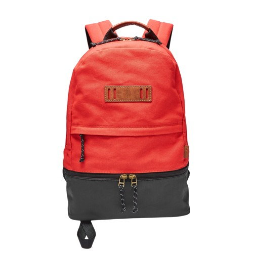 Fossil Summit Dome Backpack Mbg9327600 Color: Red
