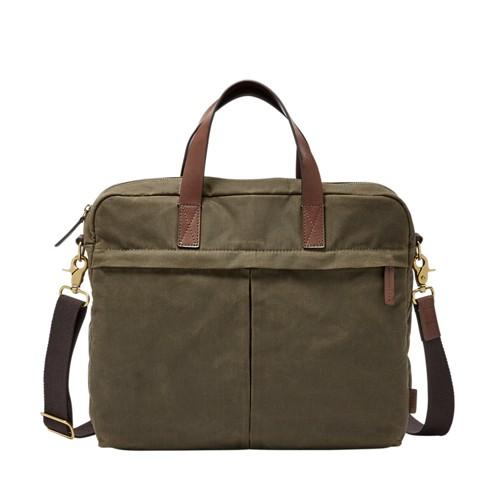 Fossil Buckner Top Zip Workbag Mbg9360300