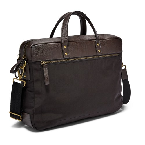 Fossil Haskell Double Zip Briefcase MBG9391001