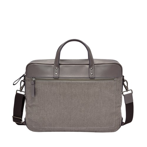 Fossil Haskell Double Zip Briefcase MBG9407020