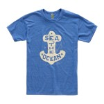 Fossil Sea The Ocean Tee