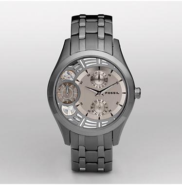 Fossil Smoke IP Dial - Twist