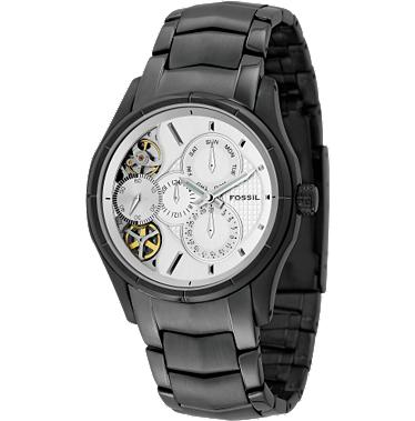 Fossil ME1019 Twist Silver Dial