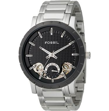 Fossil ME1048 Twist Black Dial