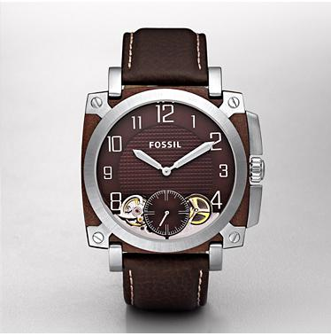 Fossil ME1070 Twist Brown Dial