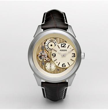 Fossil ME1088, Twist Champagne Dial