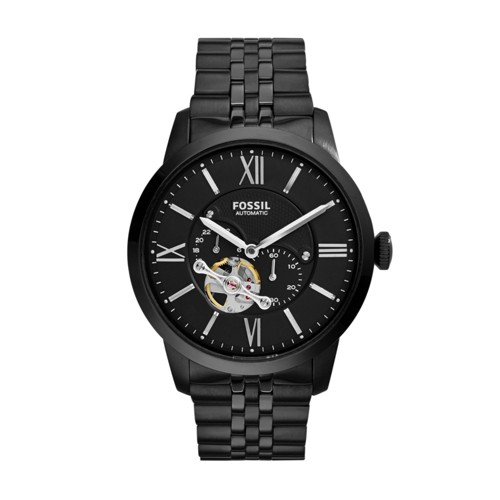 Fossil Townsman Automatic Stainless Steel Watch – Black ME3062