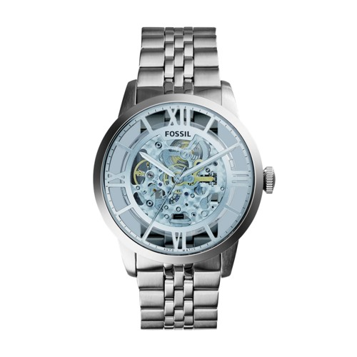 Fossil Townsman Automatic Stainless Steel Watch ME3073