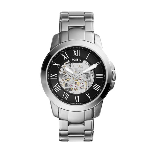 Fossil Grant Automatic Stainless Steel Watch ME3103