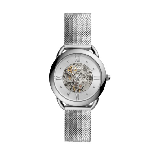 Fossil Tailor Mechanical Stainless Steel Watch  jewelry