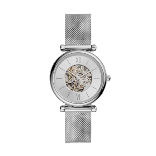 Carlie Automatic Stainless Steel Mesh Watch ME3176
