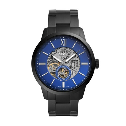 Townsman 48mm Automatic Black Stainless Steel Watch ME3182