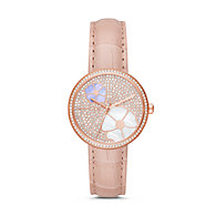 2bfe9085bd7d MK2718P · Compare · Quicklook · Michael Kors · New - Michael Kors Women s  Courtney Rose Gold-Tone and Blush Croco Leather Watch