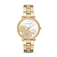 92ef7abadc6c MK3864P · Compare · Quicklook · Michael Kors · New - Michael Kors Women s  Jaryn Pavé Gold-Tone Watch