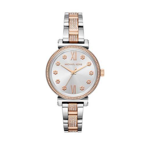 Michael-Kors Michael Kors Women&Apos;S Mini Sofie Two-Tone Watch Mk3880 jewe..