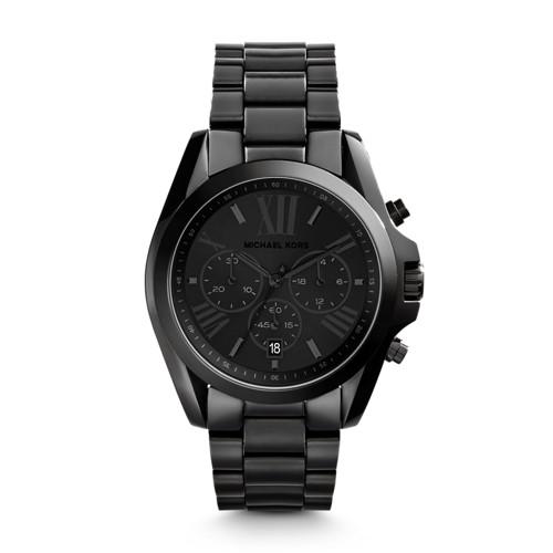 Michael Kors Michael Kors Black Bradshaw Watch Mk5550 Black
