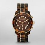 Preston Tortoise Two Tone Chronograph Watch
