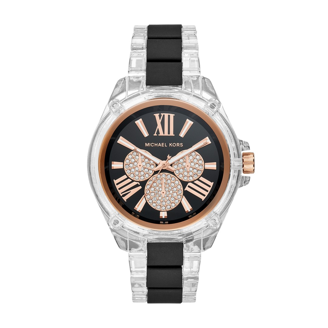 Michael Kors Michael Kors Women&Apos;S Wren Multifunction Two-Tone Stainless..
