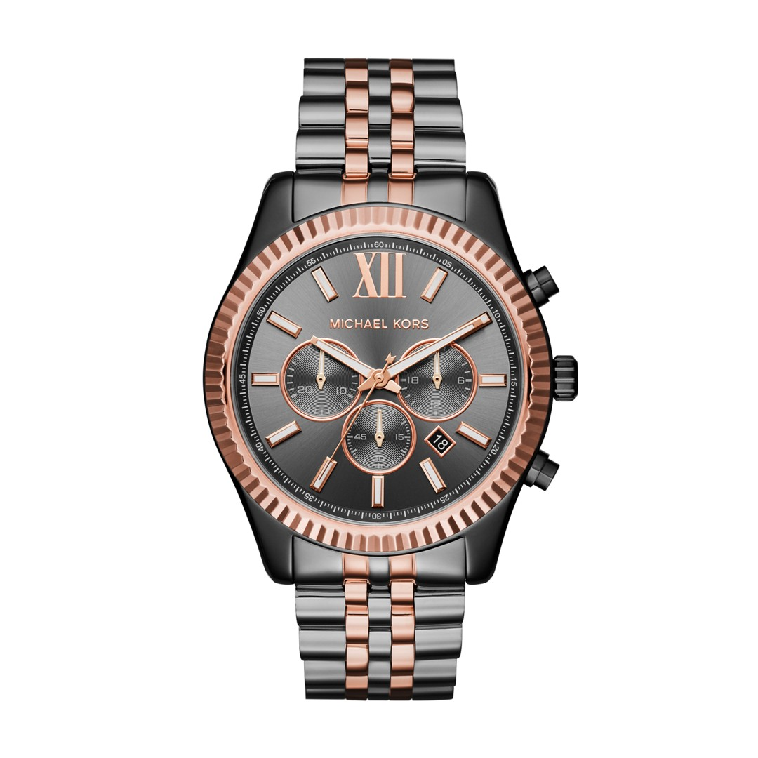 Michael Kors Michael Kors Men&Apos;S Lexington Two-Tone Chronograph Watch Mk..