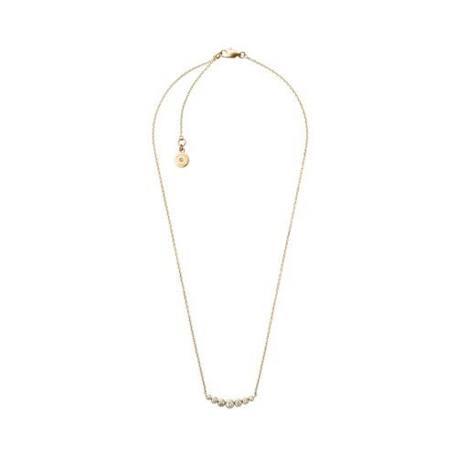 Michael Kors Park Avenue Gold-Tone Necklace Mkj4952710 Jewelry - MKJ4952710-..