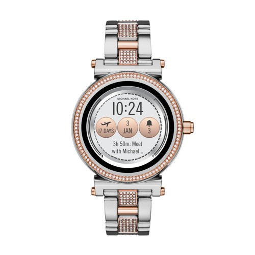 Michael Kors Michael Kors Access Sofie Two-Tone And Pavé Touchscreen Smartwa..