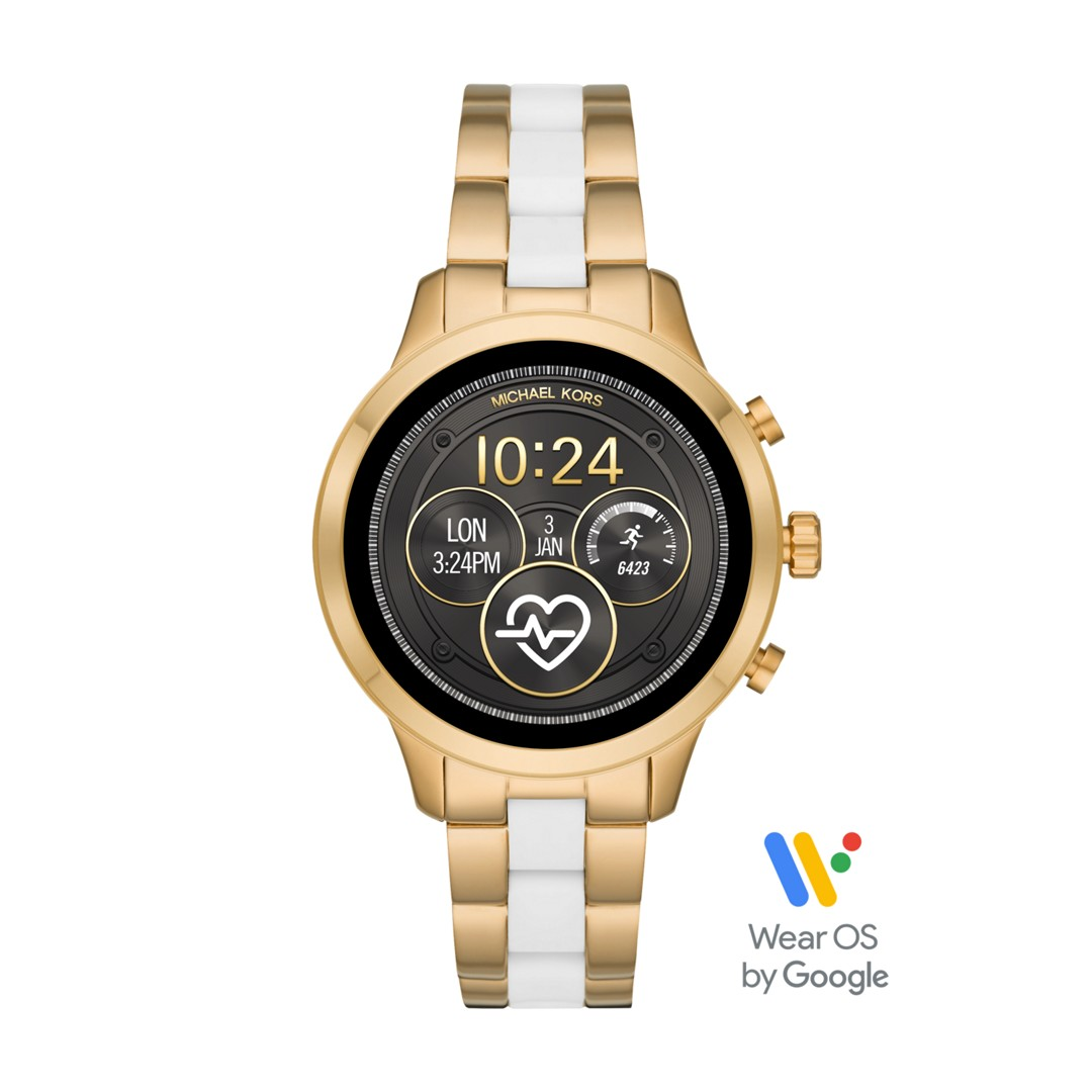 Michael Kors Michael Kors Access Touchscreen Smartwatch Runway Two-Tone Mkt5..