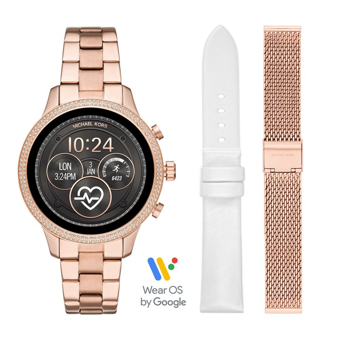 Michael Kors Michael Kors Access Touchscreen Smartwatch Gift Set - Runway Ro..