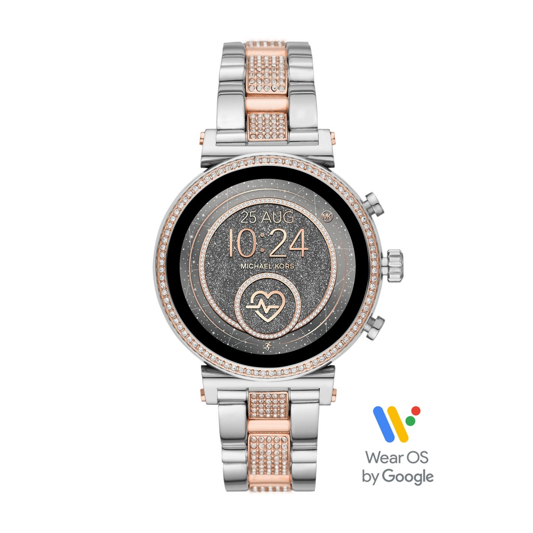 Michael Kors Michael Kors Access Sofie Heart Rate Touchscreen Smartwatch - P..