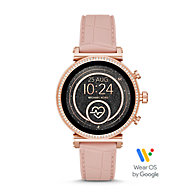 88795f037 New - Michael Kors Access Sofie Heart Rate Touchscreen Smartwatch - Rose  Gold-Tone. $350.00. Online Exclusive. remove. MKT5068P