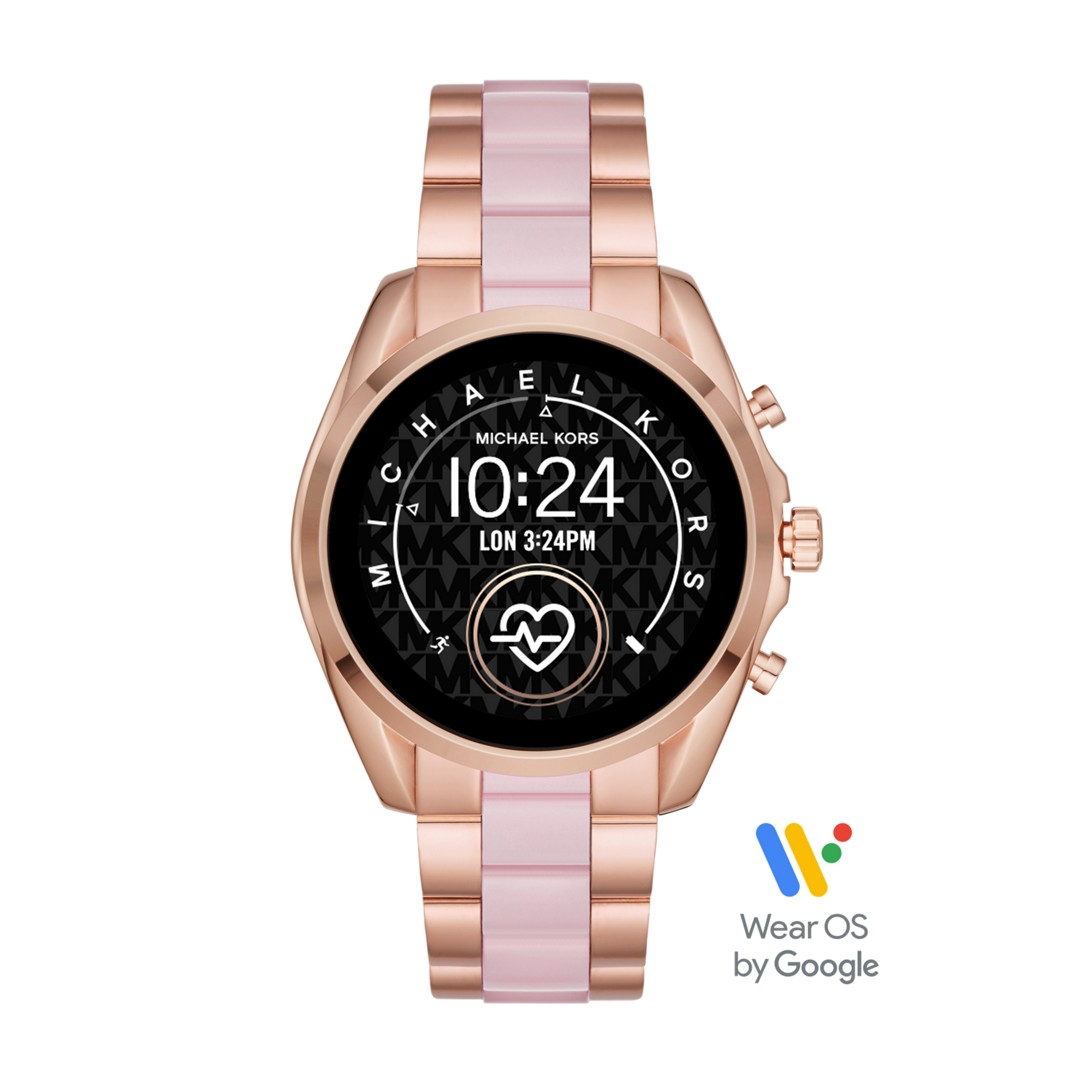Michael Kors Michael Kors Access Touchscreen Smartwatch- Bradshaw 2 Two-Tone Stainless Steel And Acetate Mkt5090 Jewelry - MKT5090-WSI