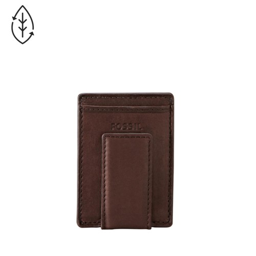 Fossil Ingram Magnetic Multicard Wallet Ml3235200 Color: Brown Wallet